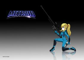 Zero Suit Samus Flash by darklinksmash