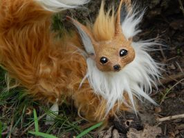 Posable Eevee Art Doll! by DLChart