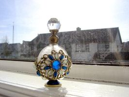 Perfume Bottle by Darkfaceintheclouds