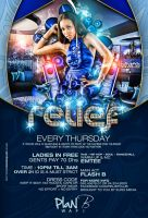 Relief thurdays flyer by DeityDesignz