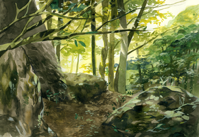 Background practice 18 by viki-vaki