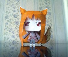 Horo papercraft by Bronwe
