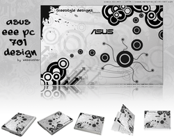my Asus Eee design by webblaster48