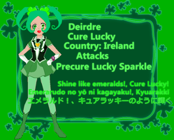Cure Lucky (Happiness Charge OC) by SailorTrekkie92