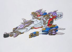 seeker team request: STARSCREAM alt mode by kishiaku