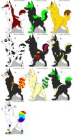 Pup Adoptables - 2 LEFT by Eva49