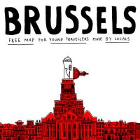Brussels Map Cover by laresistance