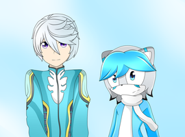 Mikleo and wizzard by Catherine-Caty