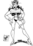 She-Hulk COMMISSION by LudHughes