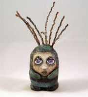 Palm Gothic Doll by livingindarkness