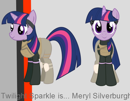 MGS-MLP: Twilight Silverburgh by Fishinabarrrel