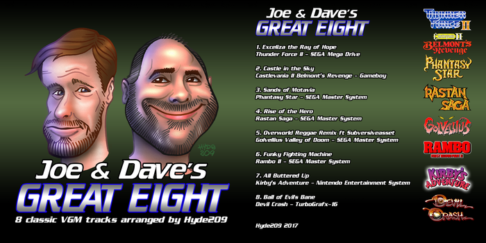Joe and Dave's Great Eight by Hyde209