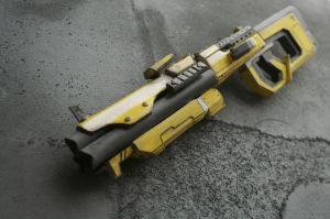 Borderlands 2 - Hyperion Rifle by theradish01