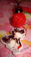 Phone Charm- Tuxedo Mask by honeyheavenly