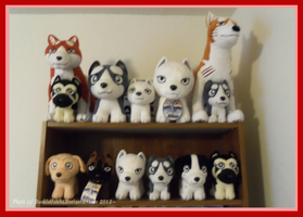 .: Ginga Plush Collection: 10/20/2013 :. by Dunkin-Prime