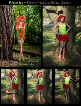 Ivy Cosplay Collaboration by kharis-art