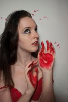 Blood on hands by 3corpses-in-A-casket