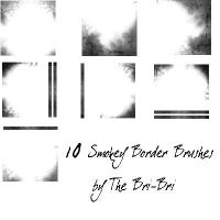 Smokey Border Brushes by rabidbribri