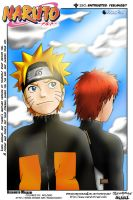 Naruto and Gaara by rolobio