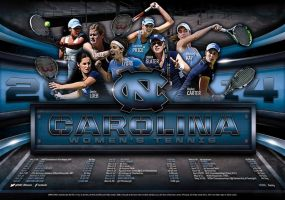 unc womens tennis by Satansgoalie