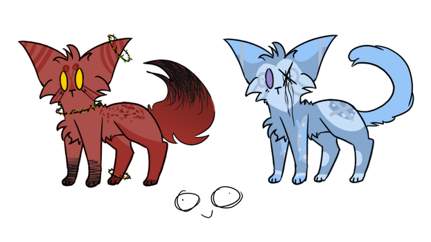 OTA cat adopts by JayyQuin