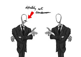 Definitely not Slenderman by rodrigoken