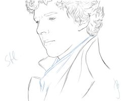 Sherlock by OfCourseVlada