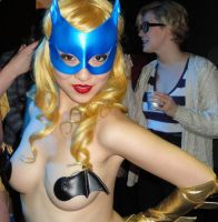 GoGo dancing Batgirl (Epic Win Burlesque) by zer0guard