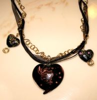Union Heart Necklace by Entophile