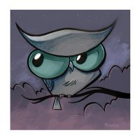 Owltober 9th 2010 by sayunclecomics