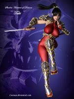 Taki the Shadow Huntress by covenan