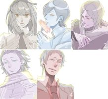 Persona series by at-mur