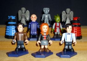 Dr Who Micro Figures Set 1 by CyberDrone