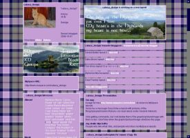 Scottish Highlands for MySpace by musicalcat