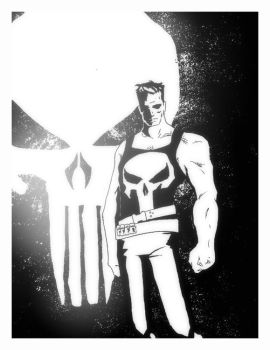 The Punisher by xNLx