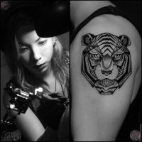 Tiger Tattoo Camsy Valencia Designs by camsy