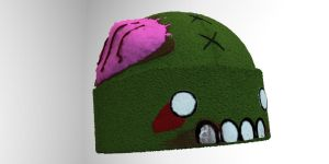 Zombie Hat by shaddam89