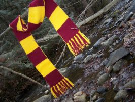 Harry Potter Scarf by harelquin-demon