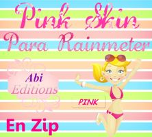 Pink Skin Para Rainmeter. by AbiiEditiions