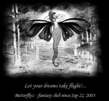 Let your Dreams take flight by Butterflyz