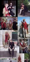 D*Con - Good Omens Collage by Inonibird
