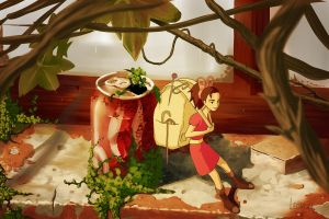 Arrietty by leomeza