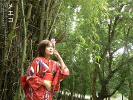 Meiko Lost in the Bamboo Forest by 23rdAngel