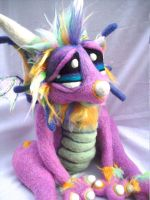 Rainbow Sherbet Dragon 2 by Tanglewood-Thicket