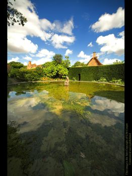 Reflections of Hidcote Manor by GMCPhotographics