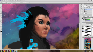 Jae Fyre - My Guild Wars 2 Elementalist WIP by jessparry