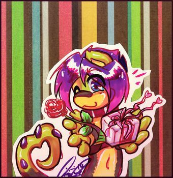 Happeh Valenweenies DAY Errybody! by carnival