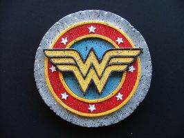 Wonder Woman Logo by RamageArt