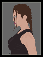 Lara Croft by ilphin