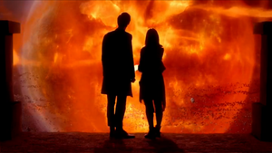 The Doctor and Clara : Infinity by TheWarRises